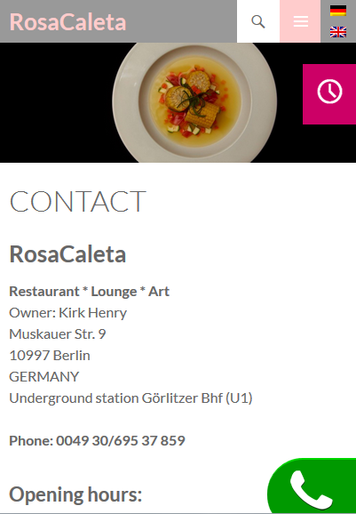 Contact RosaCaleta